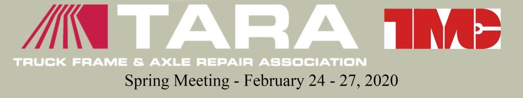 TARA SPRING MEETING banner